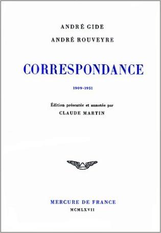 Correspondance avec André Rouveyre