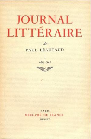 Journal littéraire Tome 1 - 1893-1906 2