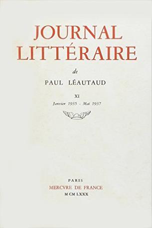 Journal littéraire Tome 11 - 1935-1937 2