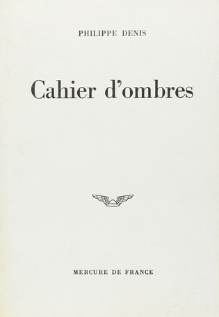 Cahier d'ombres