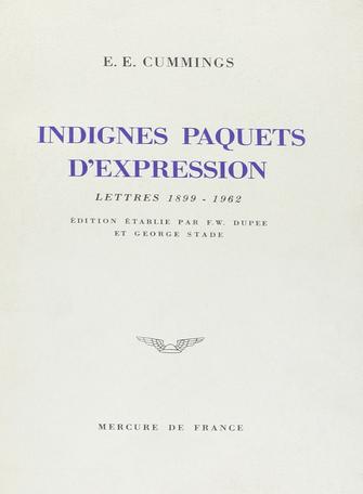 Indignes paquets d'expression
