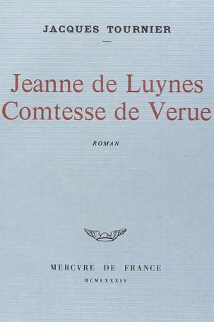 Jeanne de Luynes, comtesse de Verue