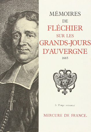 Mémoires sur les Grands-Jours d'Auvergne