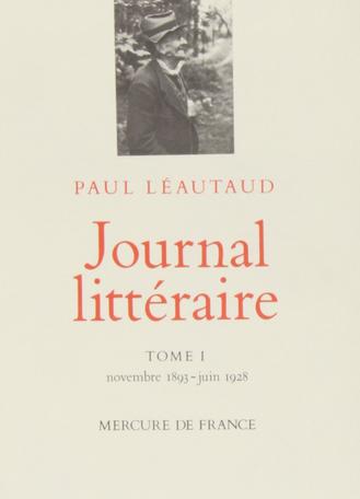 Journal littéraire Tome 1 - Novembre 1893 - juin 1928 2