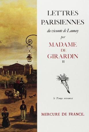 Lettres parisiennes du vicomte de Launay 2 1