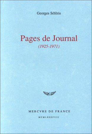 Pages de Journal
