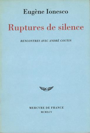 Ruptures de silence