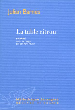 La table citron
